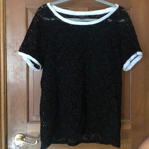 Lace short sleeve